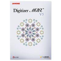 Najväčší obrázok výrobku Vyšívací software Janome Digitizer MBX PROFI COREL