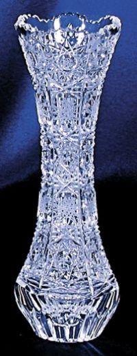 Najväčší obrázok výrobku Krištáľová vázička 15 cm