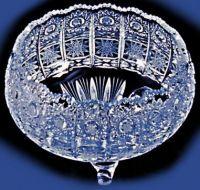 Najväčší obrázok výrobku Krištáľová misa na nožičkách 15 cm