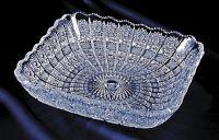 Najväčší obrázok výrobku Krištáľový tanier štvorcový 26 cm