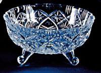 Najväčší obrázok výrobku Krištáľová miska na nožičkách 16 cm
