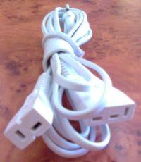 """Najväčší obrázok výrobku Prívodný kábel Lucznik, Veritas (konektory """"L"""")"""
