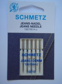 Najväčší obrázok výrobku Ihly Schmetz 130/705H-J jeans (5x100)