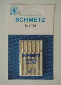 Najväčší obrázok výrobku Ihly Schmetz ELx705 (5x80)