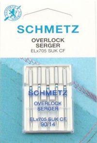 Najväčší obrázok výrobku Ihly Schmetz ELx705 (5x90)