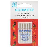 Najväčší obrázok výrobku Ihly Schmetz 130 MET SCS embroidery (5x80) metal