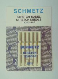 Najväčší obrázok výrobku Ihly Schmetz 130/705H-S Stretch (5x75)
