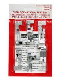 Najväčší obrázok výrobku Sada pätiek na overlocky Merrylock