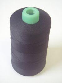 Najväčší obrázok výrobku Niť PES Overlock 120 čierna (5000m)