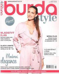Najväčší obrázok výrobku Burda style magazín 11/2017