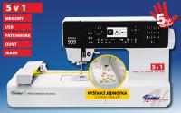 Najväčší obrázok výrobku Šijací a vyšívací stroj Veronica 909