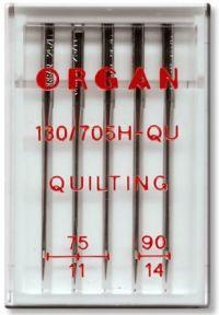 Najväčší obrázok výrobku Ihly ORGAN QUILT 75-90
